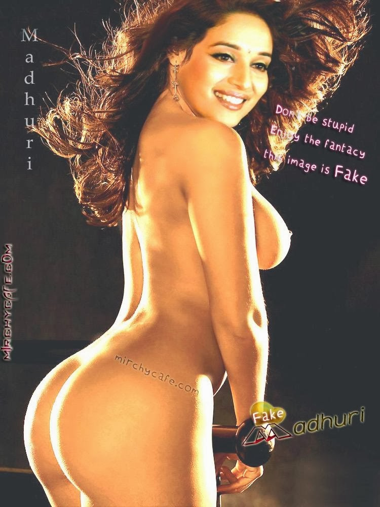 Perfect Girl Heaven Madhuri Dixit Hot Nude Boobs, Madhuri -5248