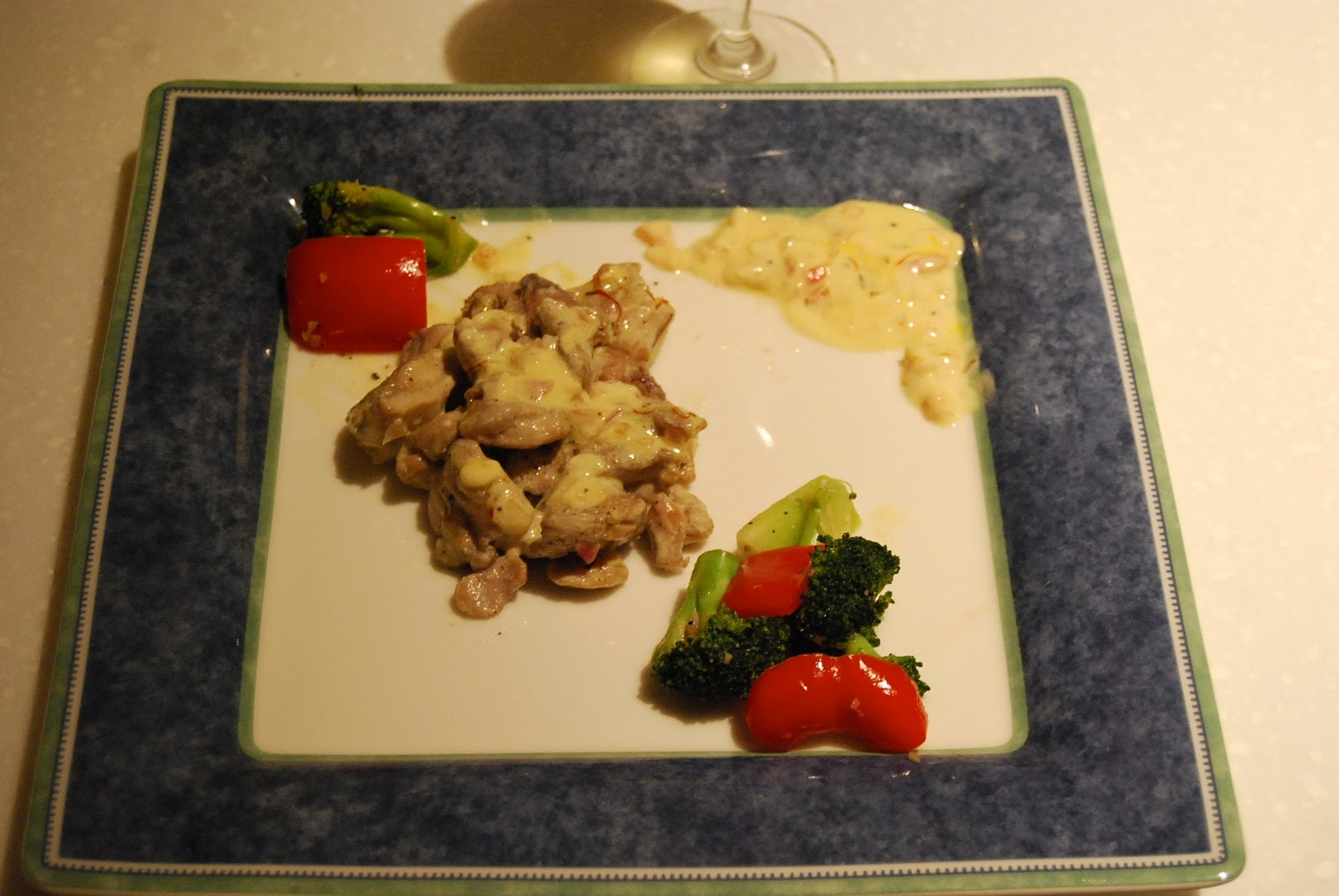 Sikandalous Cuisine: Chicken In Saffron Sauce