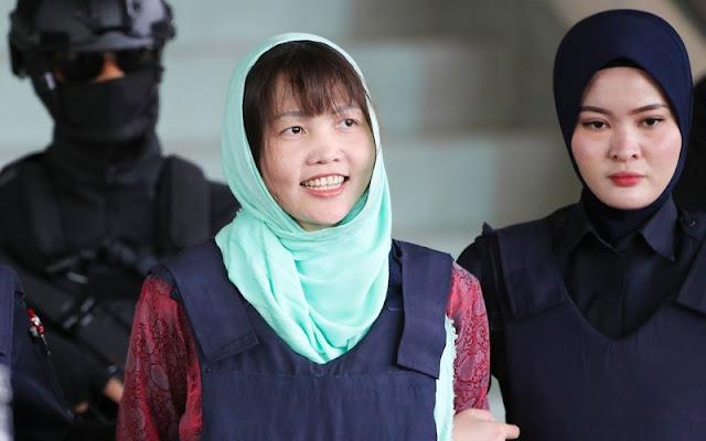 Tersangka Kasus Pembunuhan Kim Jong - nam Dinyatakan Bebas