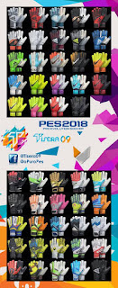 PES 2018 GlovePack Vol. 1 by Tisera09