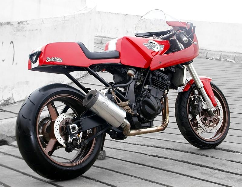 Modifikasi Motor & Mobil: Ninja Cafe Racer