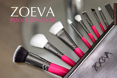 Zoeva Pink Elements Brush Set