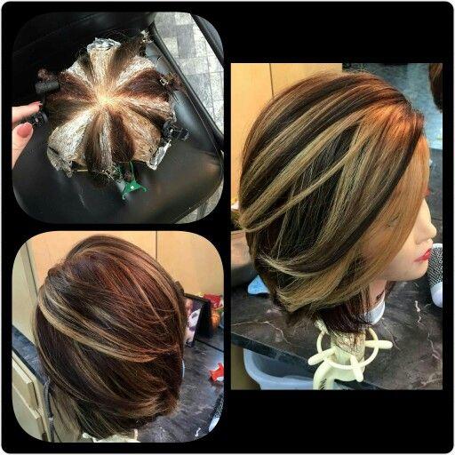 Pinwheel Hair Coloring Technique