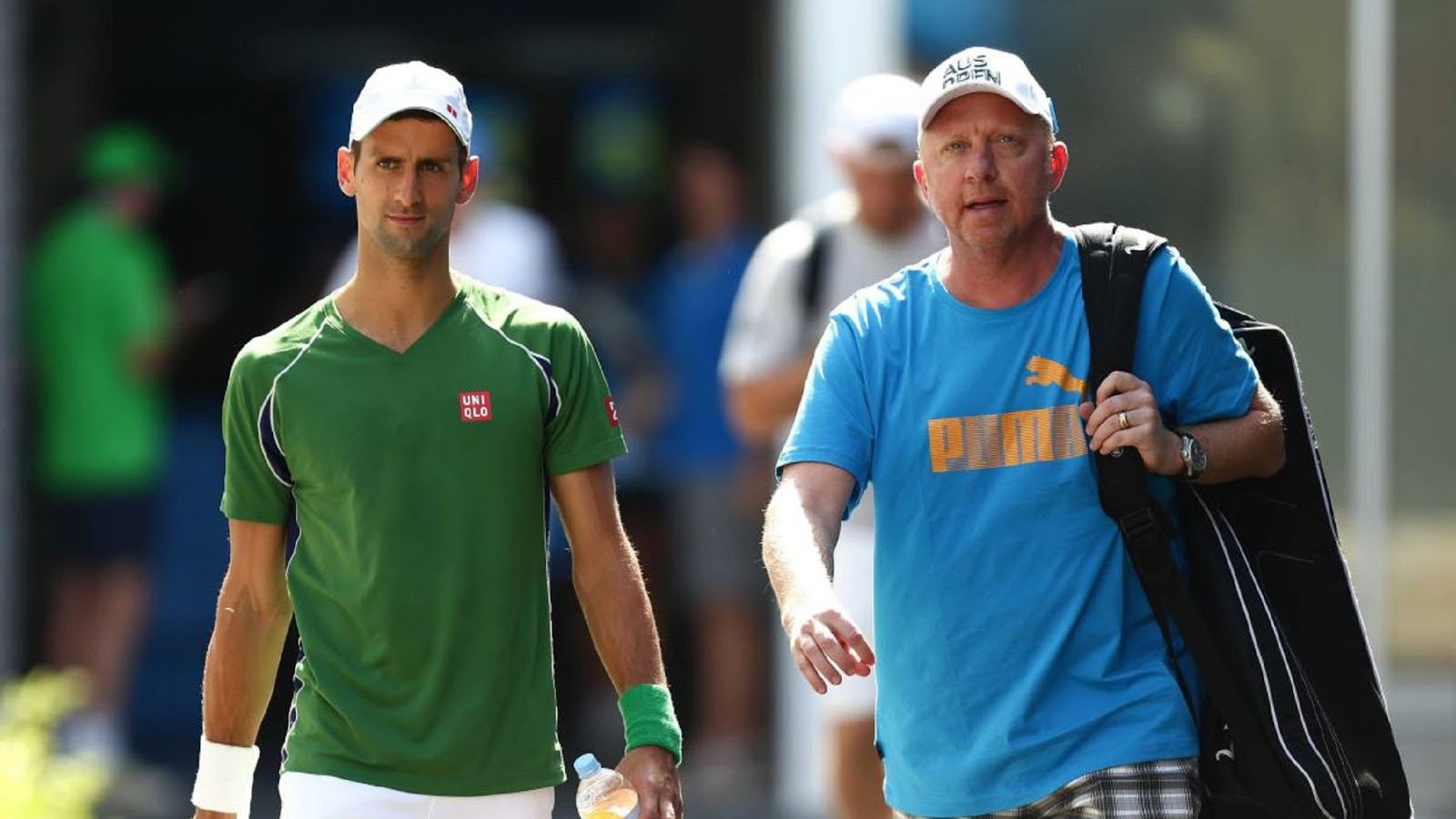 NOVAK DJOKOVIC, BORIS BECKER 3
