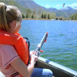 Lanceur de ligne de pêche Rocket Fishing Rod
