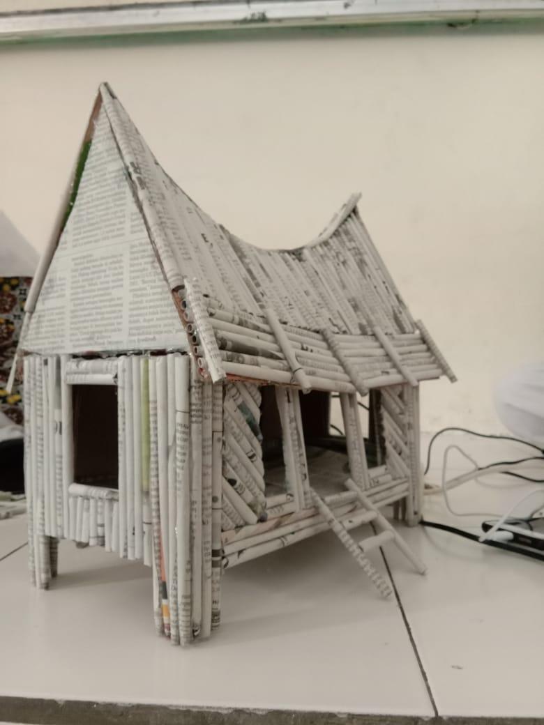 Cara Membuat Rumah Dari Koran : membuat, rumah, koran, Gambar, Rumah, Indonesia:, Membuat