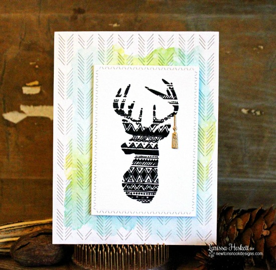 Graduation Deer Card by Larissa Heskett | Adventure Awaits Stamp set by Newton's Nook Designs #newtonsnook
