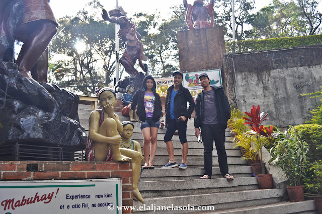 With friends at Baguio