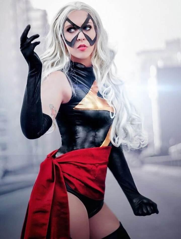 As cosplays da Capitã Marvel mais gostosas da Internet