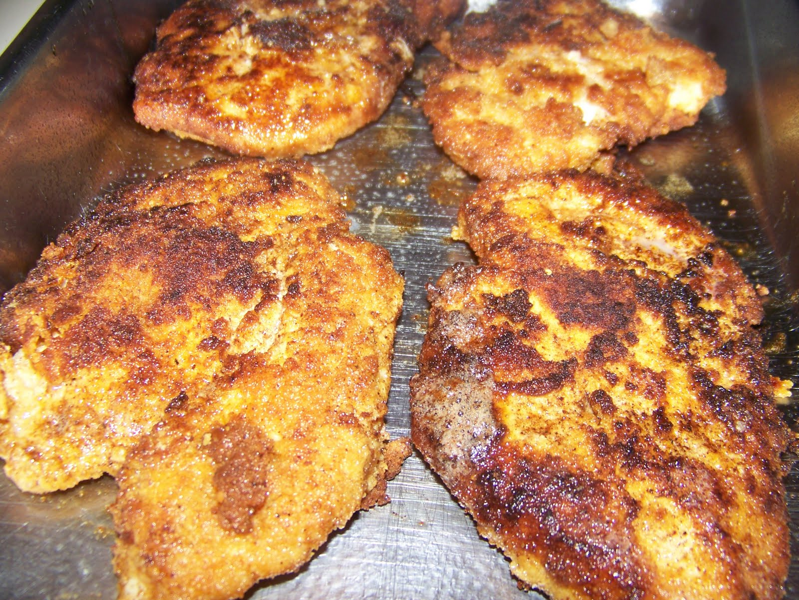Ginny S Low Carb Kitchen Mexican Fried Chicken Breast And