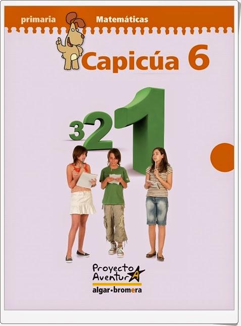 """""""Capicúa 6"""". Actividades digitales de Matemáticas de 6º de Primaria. Ediciones Bromera."""