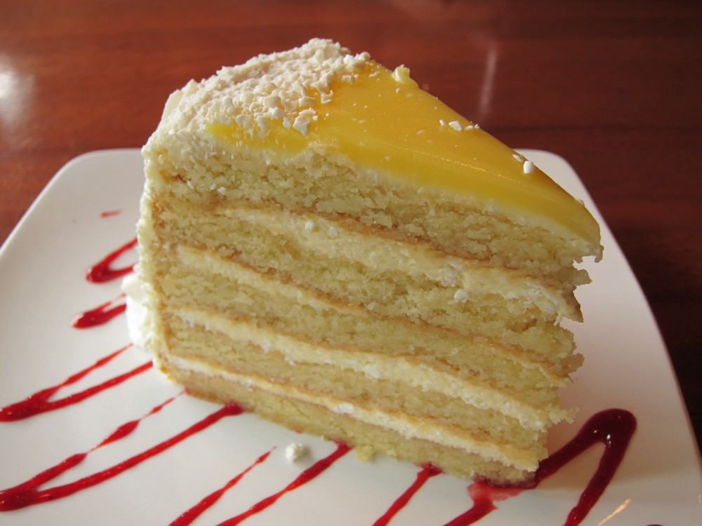Lemon Whip Cream Cake