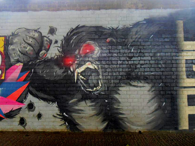 Bigfoot-Ape-graffiti