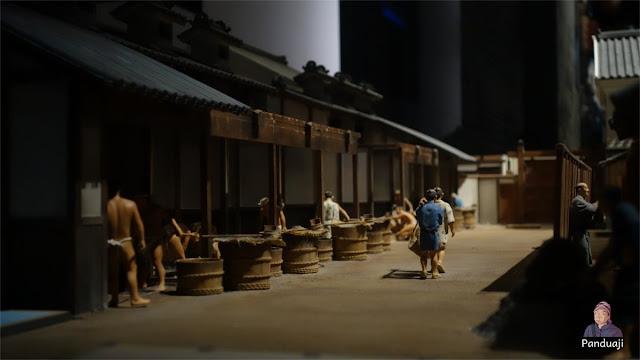 Miniatur di Osaka Museum History
