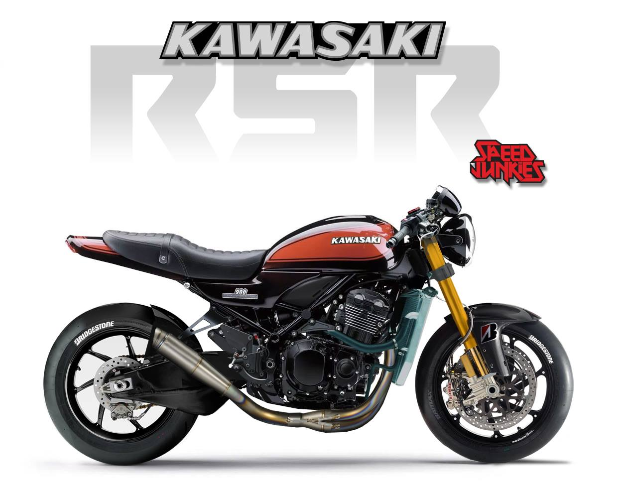 racing caf design corner kawasaki z900 rs rsr by. Black Bedroom Furniture Sets. Home Design Ideas
