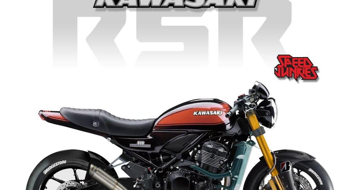 racing caf design corner kawasaki z900 rs rsr by. Black Bedroom Furniture Sets. Home Design Ideas
