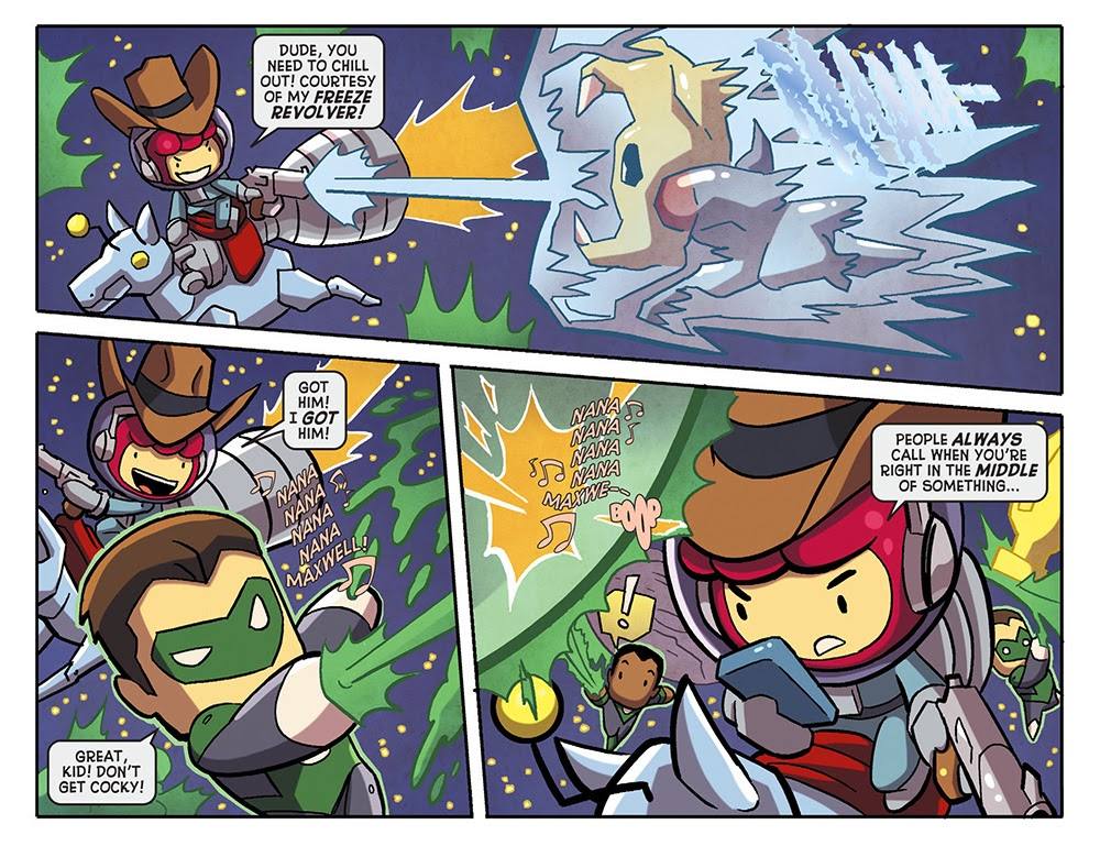 Scribblenauts Unmasked – A Crisis of Imagination 006 (2014