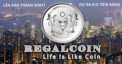 RegalCoin Dự án Tài chính đang gây sốt