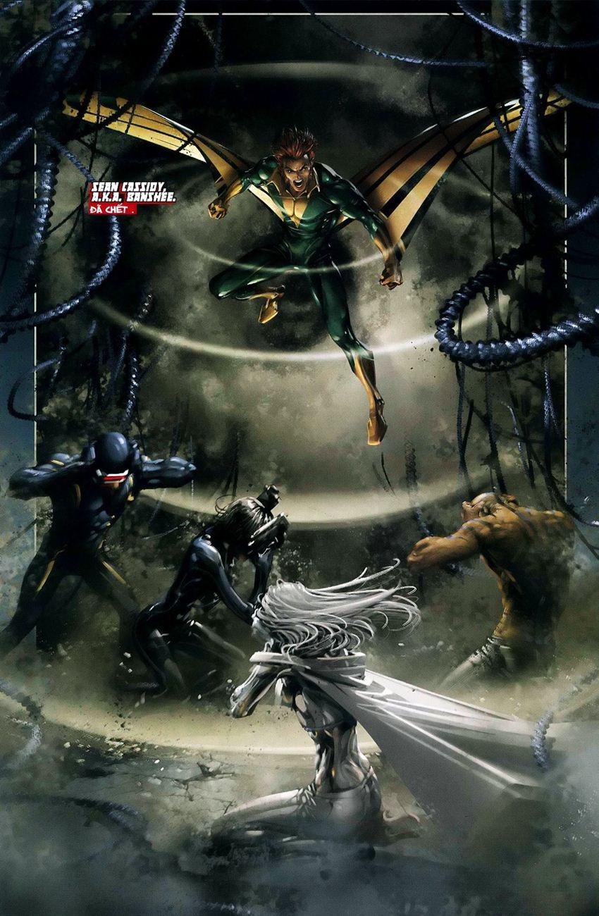 X-Men Necrosha chap 3 trang 12