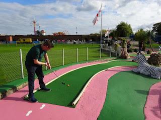 Crazy Golf at Riverside Park in Stourport on Severn