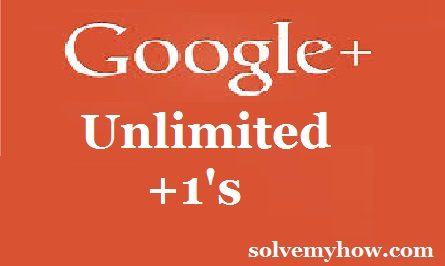 Get Unlimited Google Plus +1 Votes On Any G+ Post