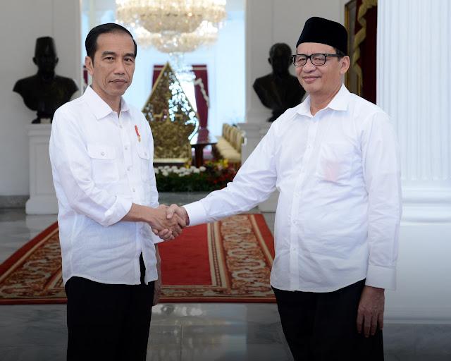 Gubernur Banten Kader Demokrat Jadi Timses Jokowi-Ma'ruf