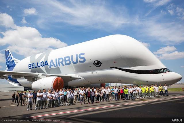 Airbus unveils Beluga XL