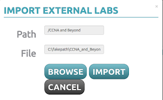 Importing external labs into UNetLab