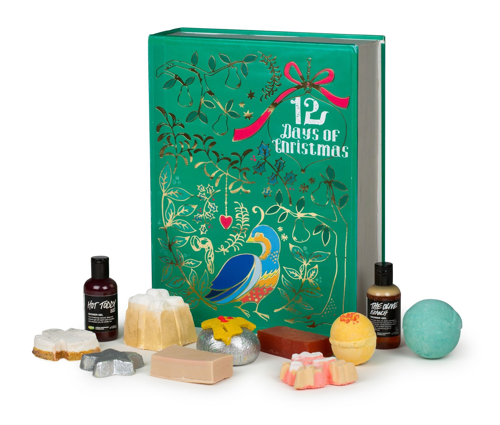 Beautyqueenuk Lush Christmas Advent Calendar