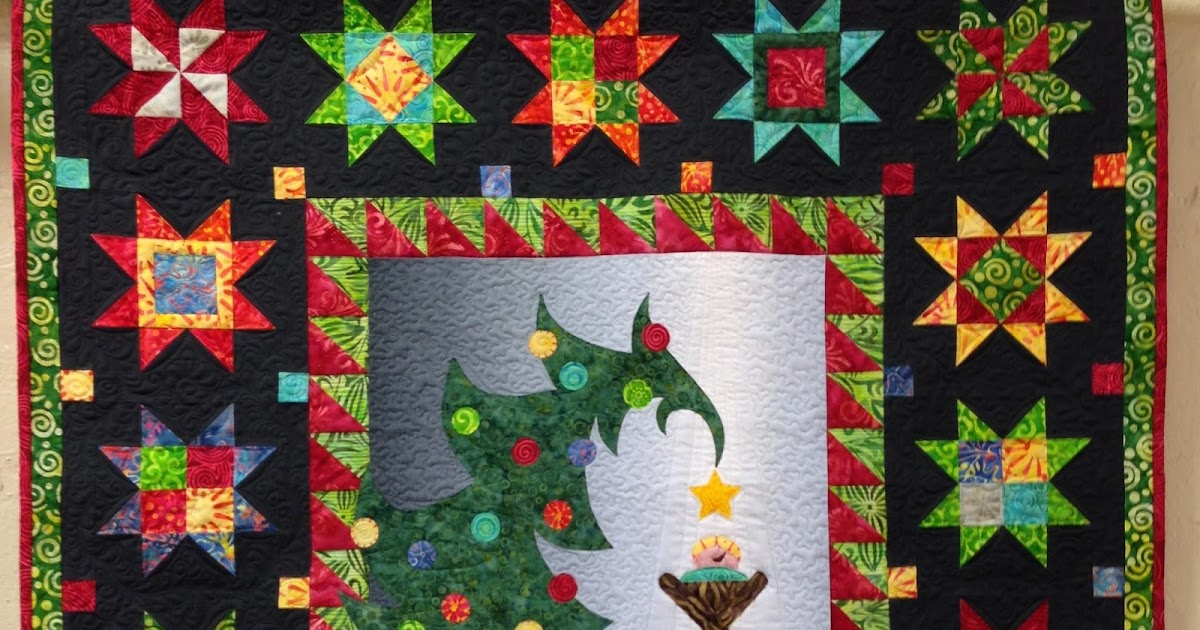 Sew N Wild Oaks Quilting Blog Christmas Morning Delight
