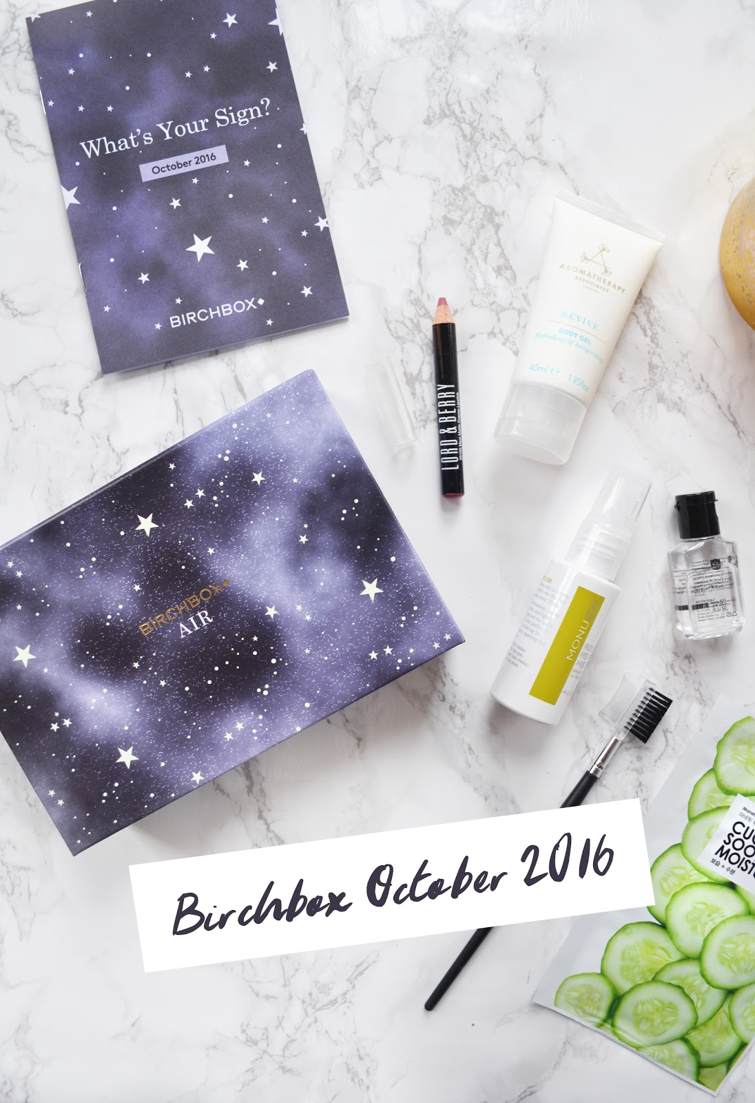Birchbox Star Sign Edition