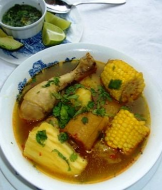Sancocho de Gallina (Chicken or Hen Sancocho)