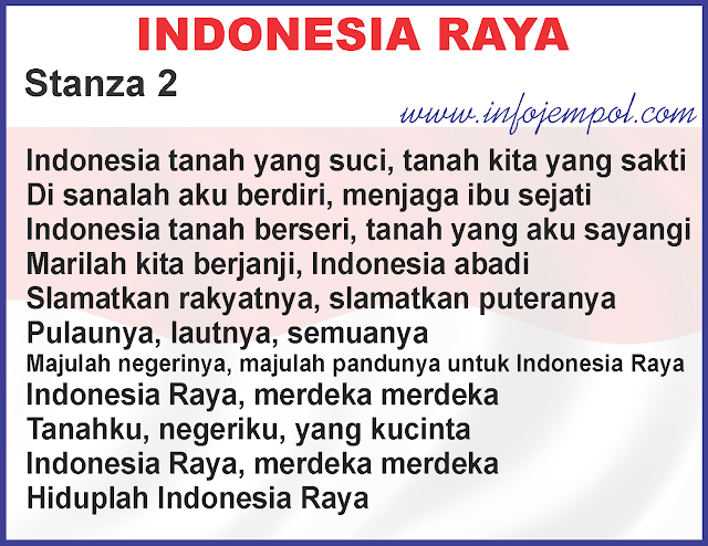 Lirik Lagu Indonesia Raya 3 Tiga Stanza Download Mp3 Lengkap Semua Versi