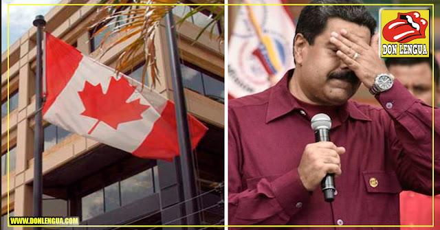 Canadá sancionó a 43 funcionarios del régimen de Maduro