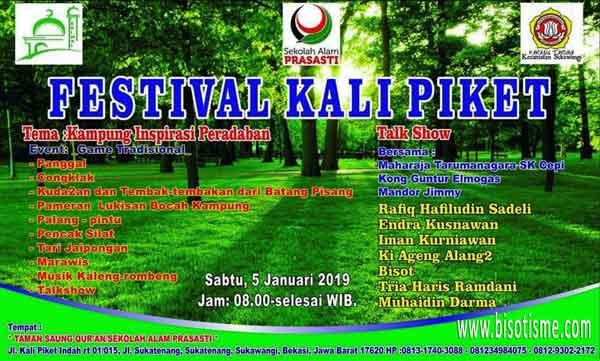 Festival Kali Piket sukatenang sukawangi bekasi