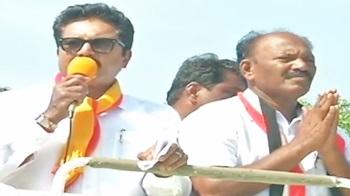AISMK Chief Sarathkumar's Campaign at Palayamkottai – Thanthi TV