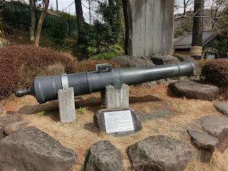 韮山反射炉大砲