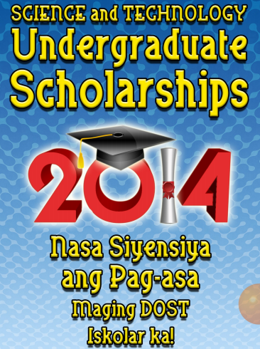 DOST-SEI 2014 S&T Scholarship Programs