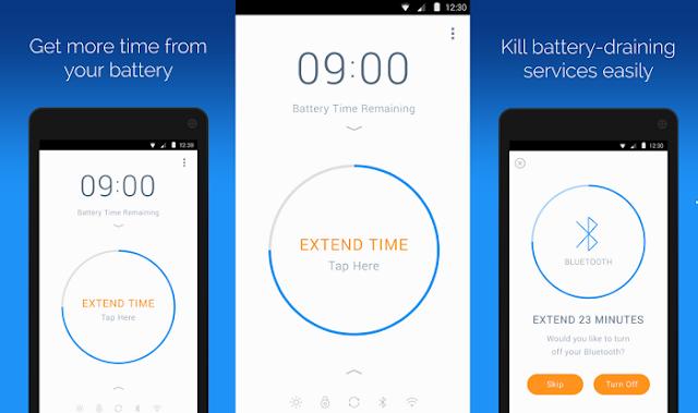 الحفاظ على بطارية الهاتف لأطول مدة مع تطبيق Battery Time Saver Optimizer