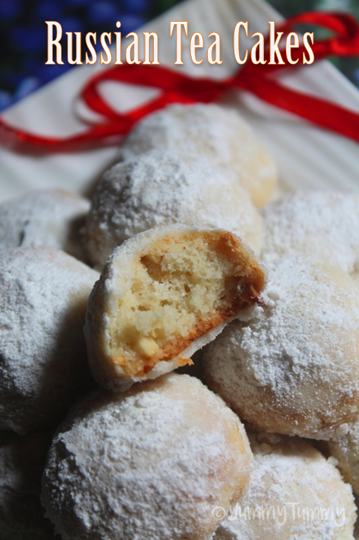 Recipe For Russian Tea Cakes Without Nuts