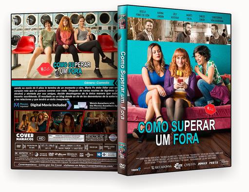 CAPA DVD – Como Superar um Fora DVD-R