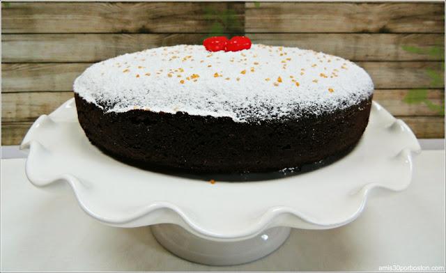 Receta del Pastel de Chocolate con Harina de Almendras