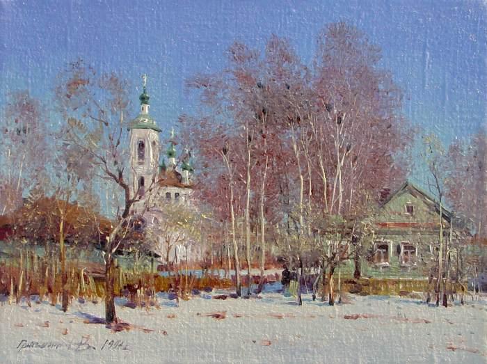 Российский художник. Василий Грибенников