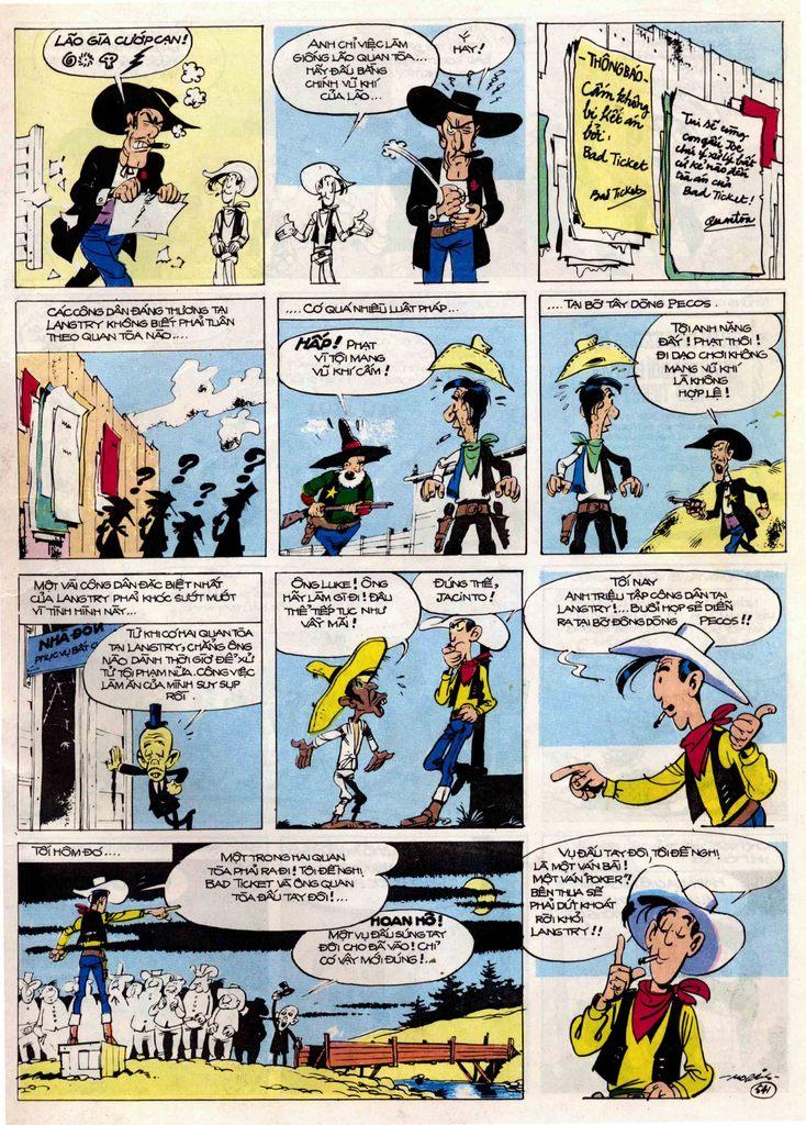 Lucky Luke tập 21 - sợi dây biết hát trang 20