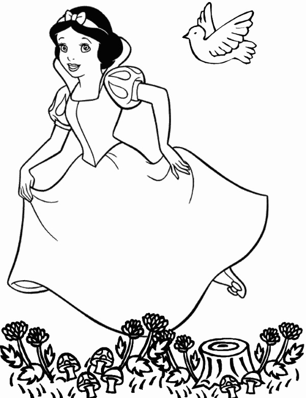 Pamuk Prenses Boyama Kitaby Pdf Resim Cizmek