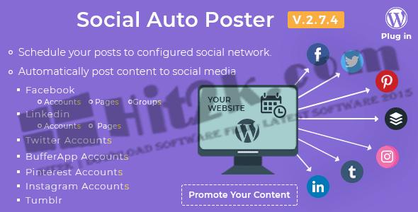 Social Auto Poster v2.6.0-WordPress Plugin Download