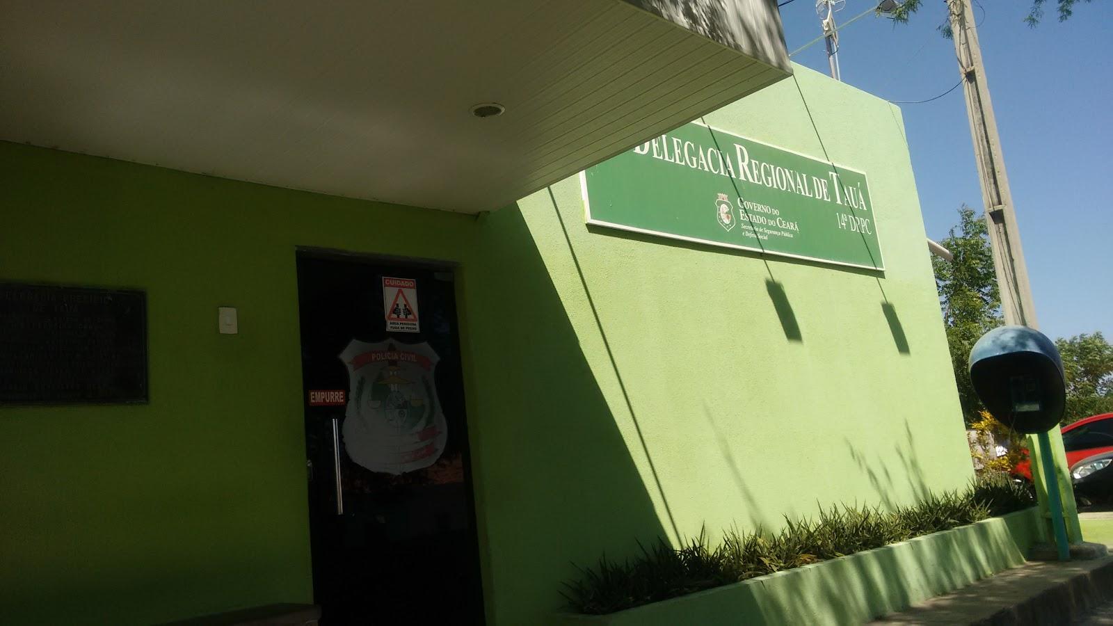 Resultado de imagem para blog do edy fernandes delegacia de taua