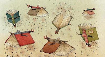 Libros volantes