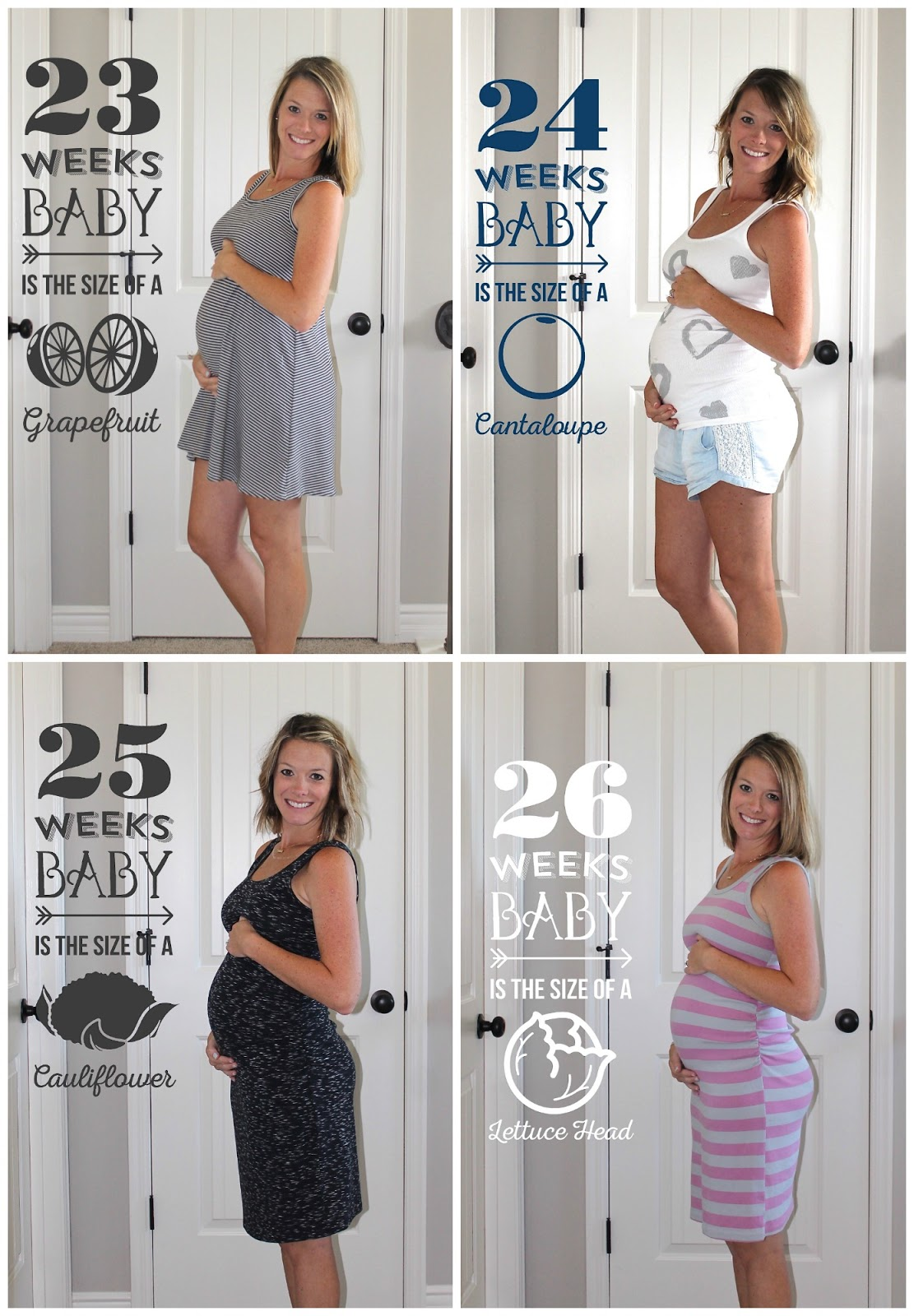 Seeing All Sides: 6 Months Pregnant with 3 0