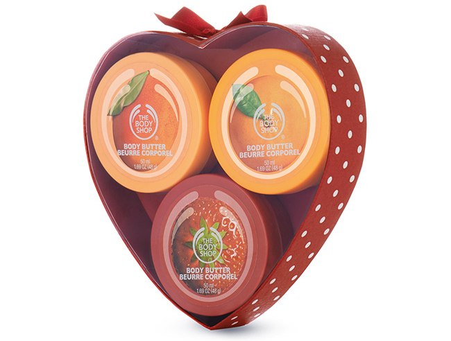 Corazón mantecas, The Body Shop